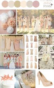 Rustic Color Schemes Rustic Neutral Wedding Color Schemes Blush Neutral Color