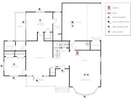 amazing chic 5 secure house plans example image plan with security layout