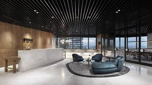 Office interiors melbourne Luxury Luxury Materials Bring Hotel Feel To Headquarters Of Pdg Property Developers Facebook Luxury Materials Bring Hotel Feel To Headquarters Of Pdg Property