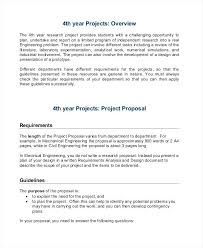 Engineering Project Proposal Template Examples Free Premium ...