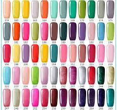 Nail Color Chart 48 Bottles Set L M Soak Off Gel Nail Polish Wholesale 602 Colors For Choose