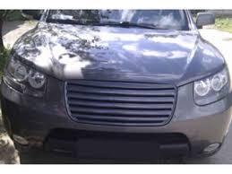 Черная ABS <b>решетка радиатора</b> для Хендай <b>Санта</b> Фе (Hyundai ...