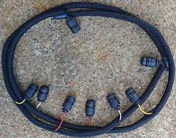 1987 1994 ford diesel turbo glow plug wiring harness 7 3l idi 6 9l image is loading 1987 1994 ford diesel turbo glow plug wiring
