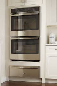 double oven cabinet with warming drawer