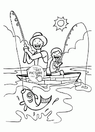Small Picture Super Dad coloring page for kids fathers day coloring pages