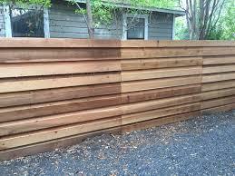 6'H Horizontal Board-on-Board Cedar Privacy Fence Check out www. Modern  Fence DesignCedar ...