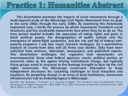 Write dissertation abstract humanities