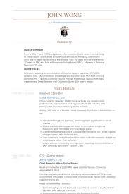 Finance Resume Examples 2011 Professional Resume Cv Maker
