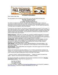 Mar Vista Fall Festival Needs Your Donations Now Mar Vista Mom