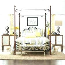 Wrought Iron Canopy Bed Frame Q For Sale – Examples Home Creator Free