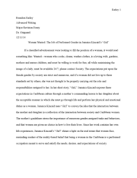 a postcolonial reading of kincaids the autobiography   performing gender in kincaids by brandon earley issuu p kincaid essay essay large
