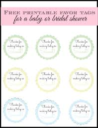 All of these are downloadable and in psd, vector ai, or eps formats. Free Printable Baby Shower Favor Tags In 20 Colors Baby Boy Shower Favors Simple Baby Shower Baby Shower Favor Tags
