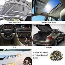 amazing 500 x rivet push pin clip car door moulding trim panel fastener per retainer 2018 2018