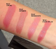 Mac Fast Play Mac Lipstick Swatches Part 2 Peachesandblush