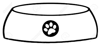 Small Picture Outlined Empty Dog Bowl Royalty Free Cliparts Vectors And Stock