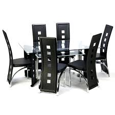 6 seater glass dining table dining room extraordinary glass table with chairs tall kitchen 6 and set image setting design seat round splendid small 6 seater