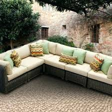 cute outdoor furniture sectional sofa the design pertaining to l shaped patio wicker t outdoor wicker patio furniture sectional