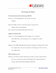 Apa Dissertation Template Maxresdefault Style 6th Reference List