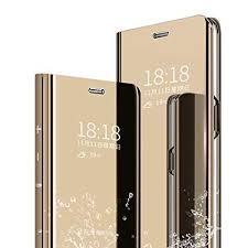 Case for OnePlus 7 Pro Flip Cover Mirror Makeup ... - Amazon.com