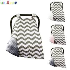 baby car seat blanket canopy newborn baby girls boys soft cotton car seat cover canopy cat
