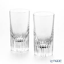 la maison チュイルリー double shot glass 90 ml pair present gift bottle and cup father s day tableware