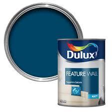 Dulux Feature Wall Sapphire Salute Matt Emulsion Paint 1 25l