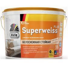 <b>Краска</b> акриловая интерьерная <b>Dufa Retail Superweiss</b> Plus ...