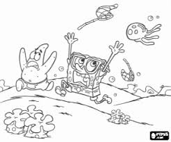 Spongebob And Patrick Coloring Pages Viettiinfo