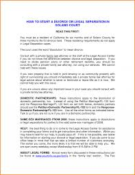 Legal Law How To Start Divorce Letter Template Word Family Law