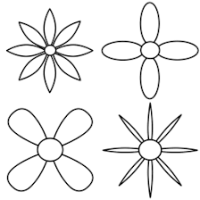 Small Picture How to Draw Flowers of Simple Designs