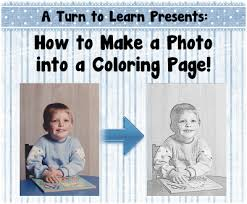 Small Picture Turn Picture Into Coloring Page Photoshop Good How To Make A Photo