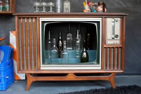 hidden bar furniture. custom made vintage tv television cocktail bar cabinet hidden furniture e
