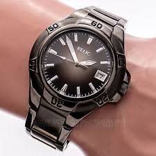 mens relic watch relic zrj11010 gradient black date dial 50m stainless men s watch works 543 11