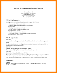 Medical Assistant Example Resume Medical Assistant Resume Sample Resumelift Skills Image Examples 42
