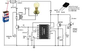 Fan And Light Remote Control Circuit How To Control Light Or Fan Using Any Ir Remote Ic 4017