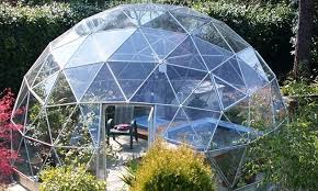 garden dome. Top Of The Range: Solardome, Which Costs A Cool £22,000, Is Garden Dome