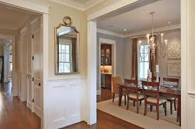 Small Picture Fine Dining Room Wall Decor With Mirror Throughout Design Ideas