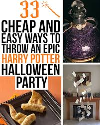 throw an epic harry potter party