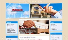My Property Blogger Template Dhetemplate