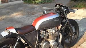 1979 honda cb650 custom cafe racer motorcycle process video build rusty knuckles diy you