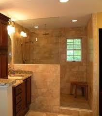 Shower idea...half wall/no door :) More