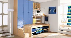 cool home office ideas mixed. Blue Brown Kids Wardrobe With Drawers Mixed Loft Home Office Sets - Elegant Homes Showcase Cool Ideas
