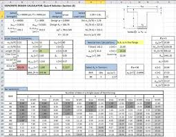 Small Picture excel spreadsheet design for engineering calculations civil
