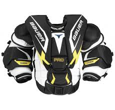 Bauer Goalie Chest Protector Size Chart Bauer Pro Goalie Chest Arm Protector Sr Chest Arm