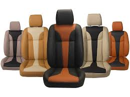 picture of honda wrv custom fit leatherette 3d car seat covers pl203 tango