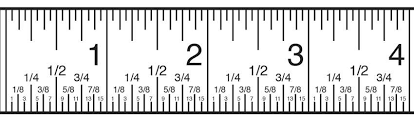 Ruler Measurement Chart Inch Fraction Calculator Find Inch Fractions From Decimal