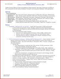 Beautiful Qa Tester Resume Personel Profile