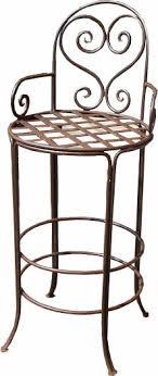 wrought iron bar chairs. Bar Stool 1 Wrought Iron Chairs E