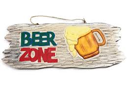 beer zone happy hour tiki bar sign hawaiian gifts with aloha