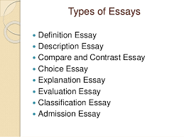 how to write an essay   14 types of essays